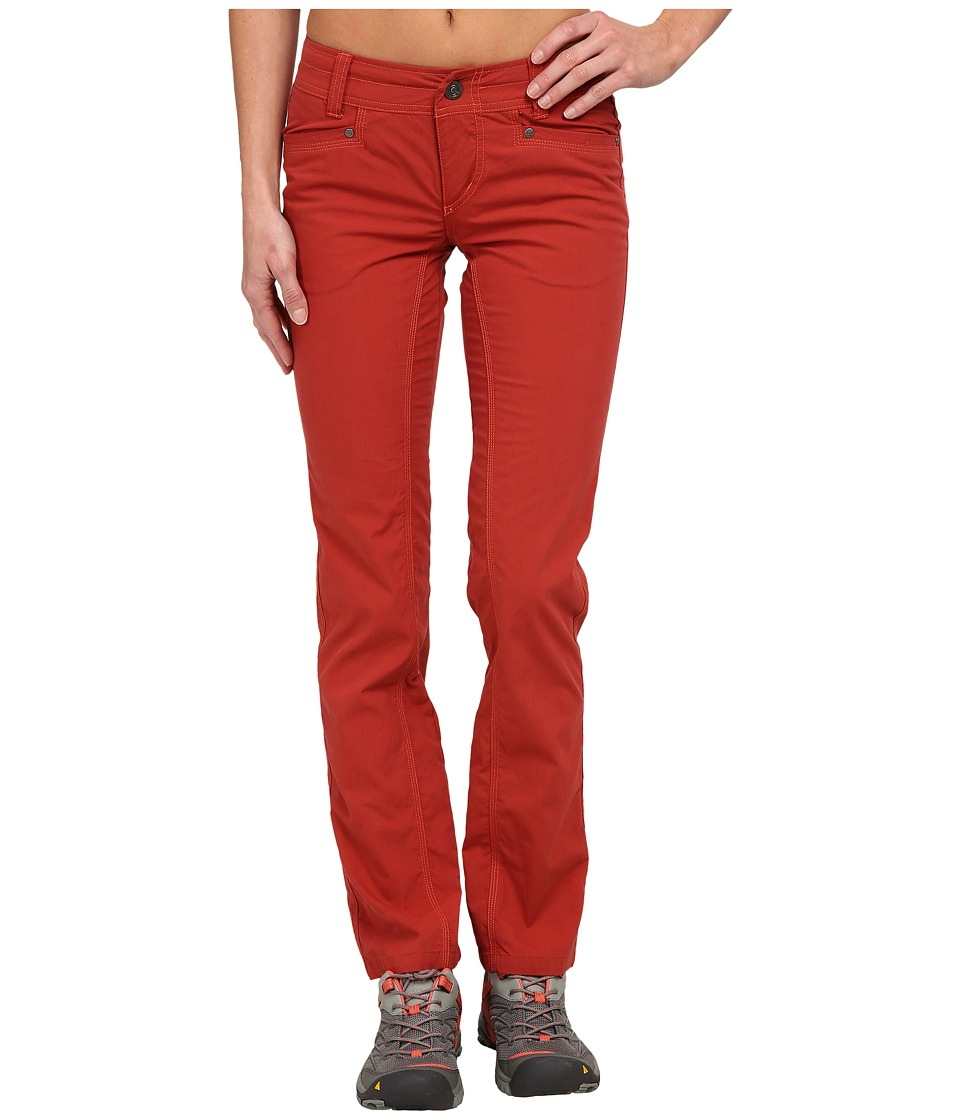 KUHL - Splash Straight Pants (Burnt Sienna) Women's Casual Pants