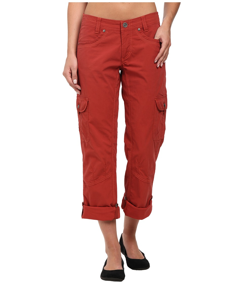 Kuhl - Splash Roll-Up Pant (Burnt Sienna) Women's Casual Pants