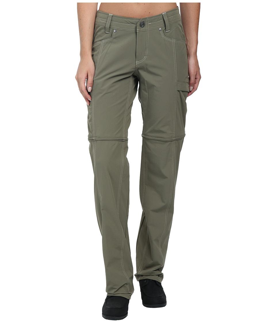 KUHL - Anika Convertible Pant (Dark Khaki) Women's Casual Pants