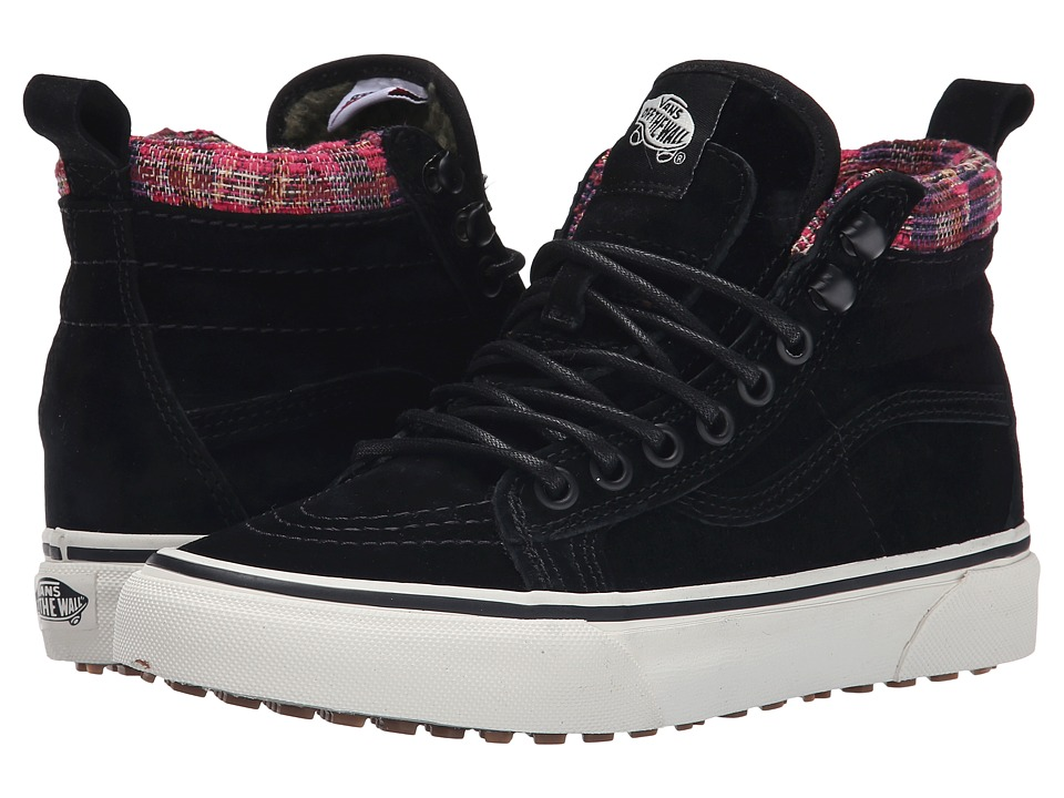 Vans - SK8-Hi MTE ((MTE) Black/Woven Chevron) Skate Shoes
