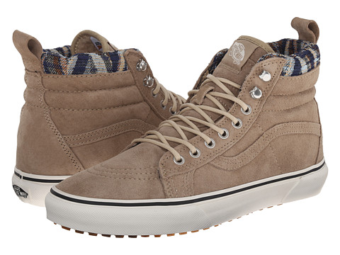 Vans - SK8-Hi MTE ((MTE) Khaki/Woven Chevron) Skate Shoes