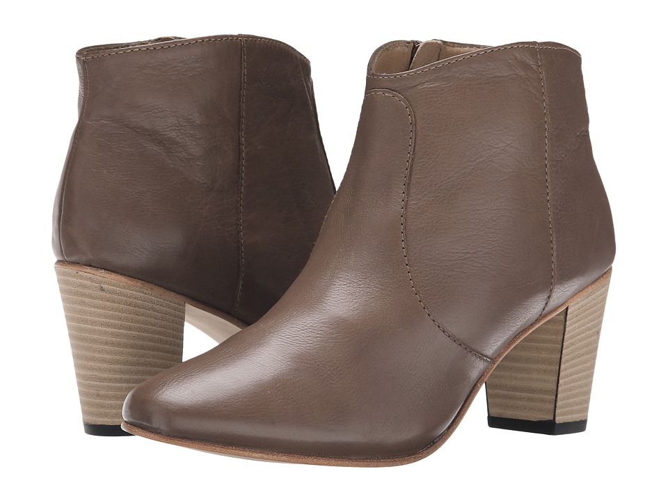 Johnston & Murphy Etta Bootie (Cocoa Tumbled Calfskin) Women