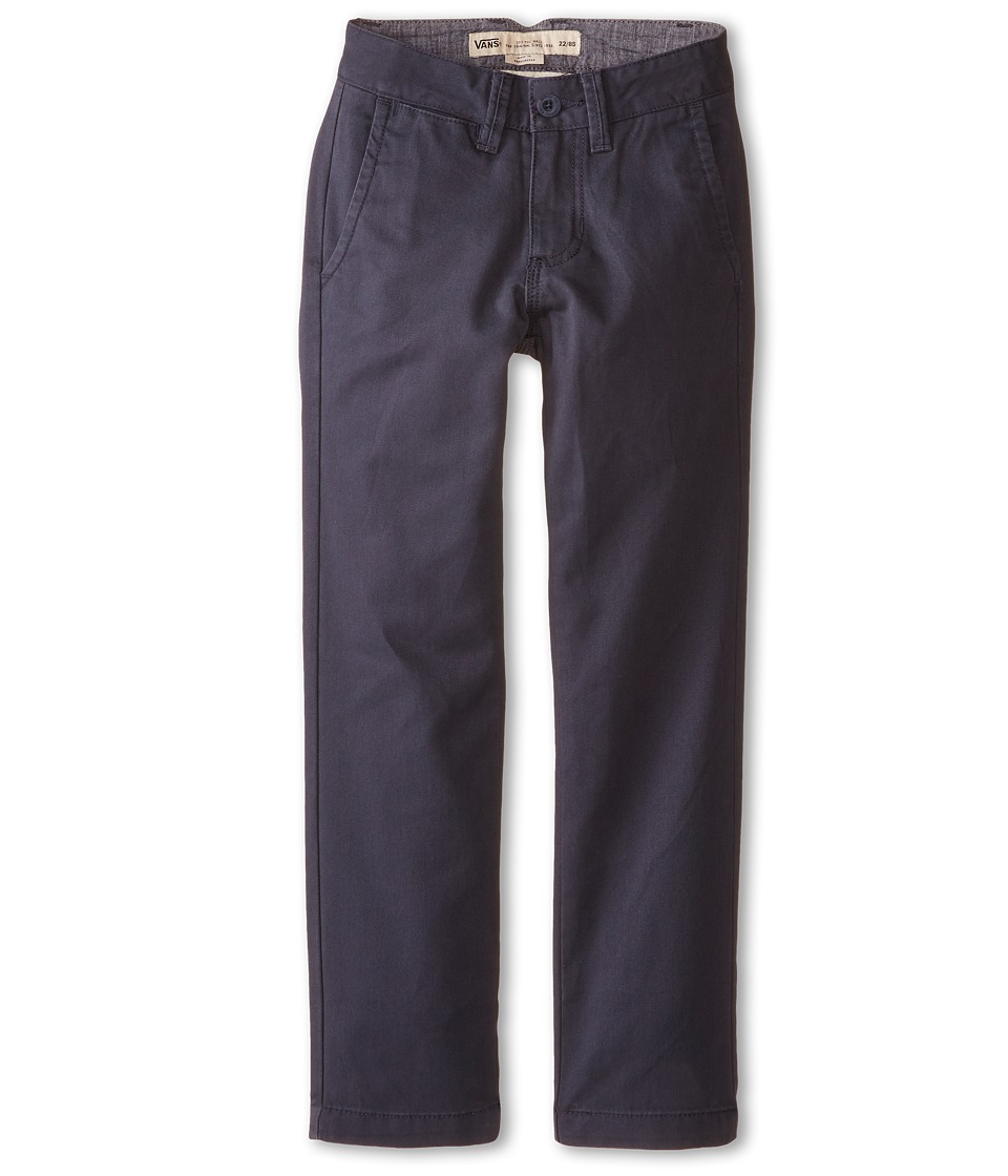Vans Kids - Excerpt Chino Pants (Little Kids/Big Kids) (Navy) Boy's Casual Pants