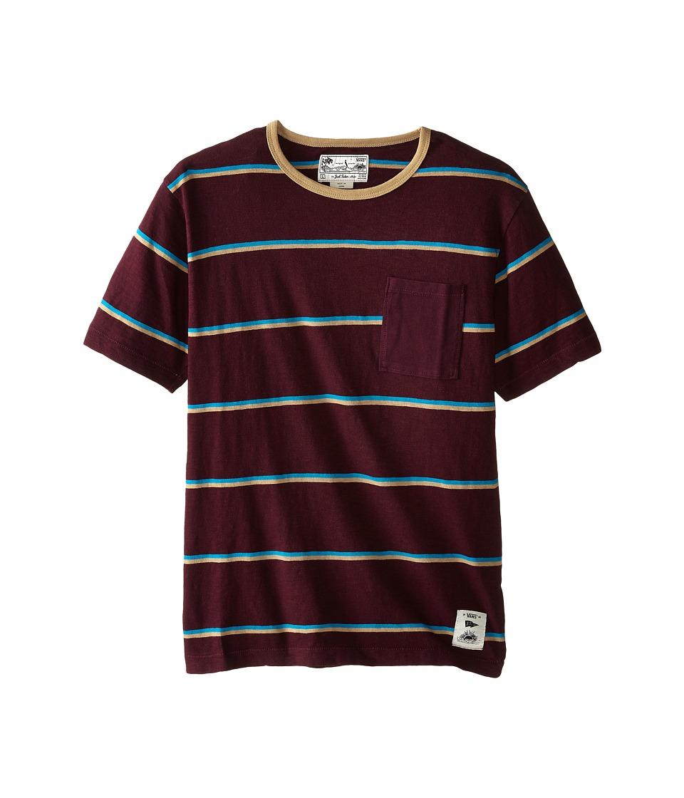 Vans Kids - JT Basin T-Shirt (Big Kids) (Port) Boy's T Shirt