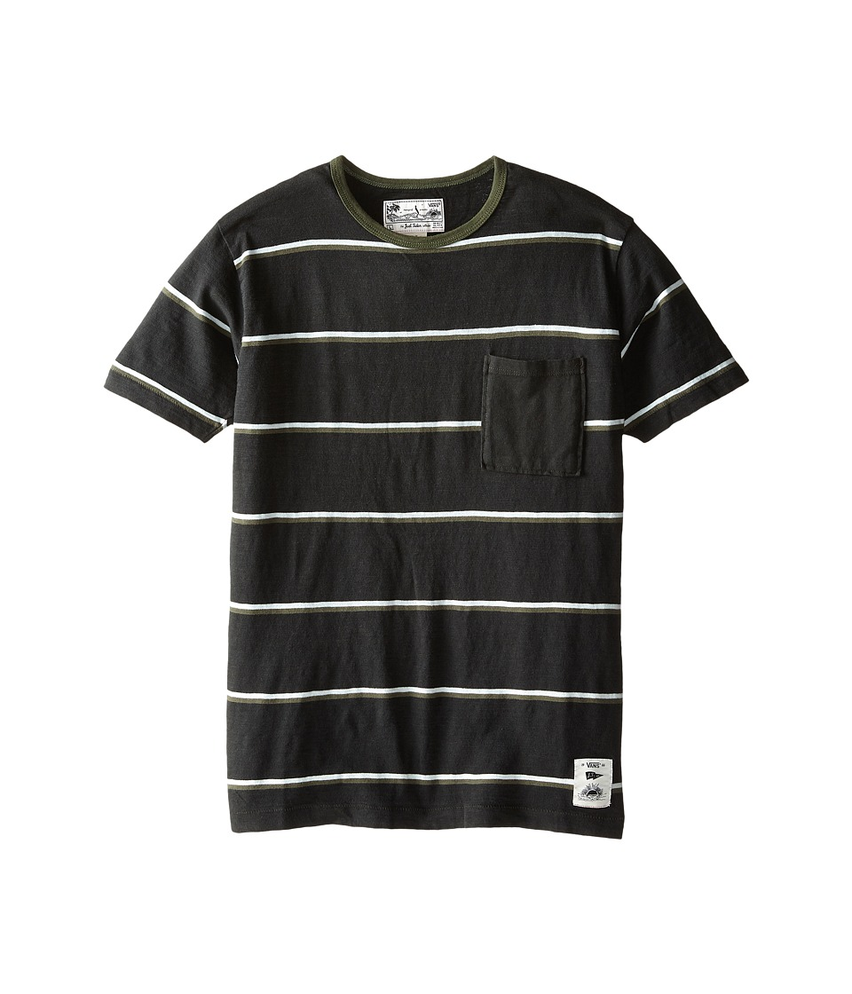 Vans Kids - JT Basin T-Shirt (Big Kids) (Pirate Black) Boy's T Shirt