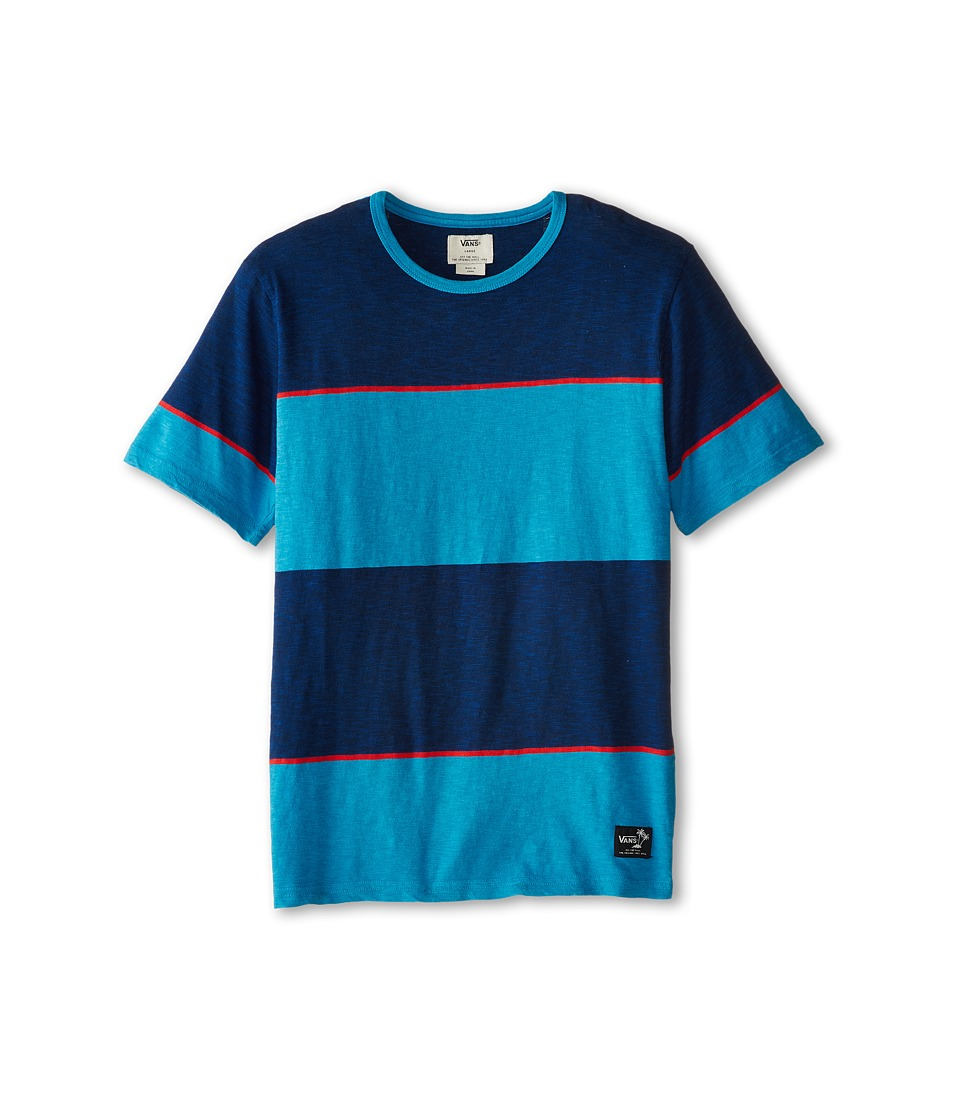 Vans Kids - Calabar SS T-Shirt (Big Kids) (Maliblue) Boy
