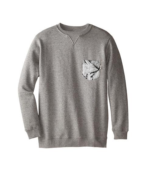 Vans Kids - Cadmus Sweater (Big Kids) (Concrete Heather) Boy's Sweater