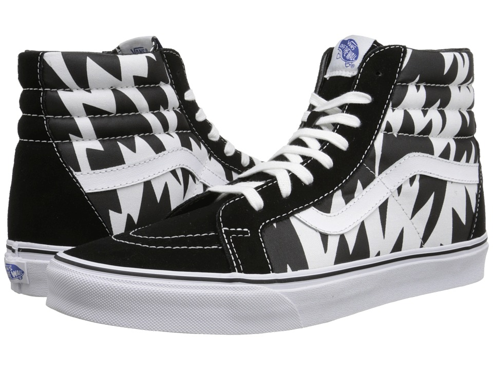 Vans - SK8-Hi Reissue ((Eley Kishimoto) Flash/White/Black) Skate Shoes