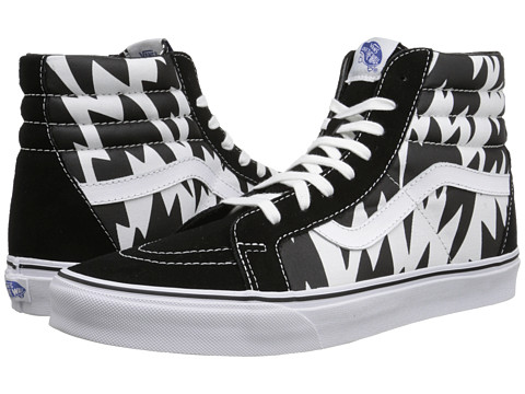 Vans - SK8-Hi Reissue ((Eley Kishimoto) Flash/White/Black) Skate Shoes