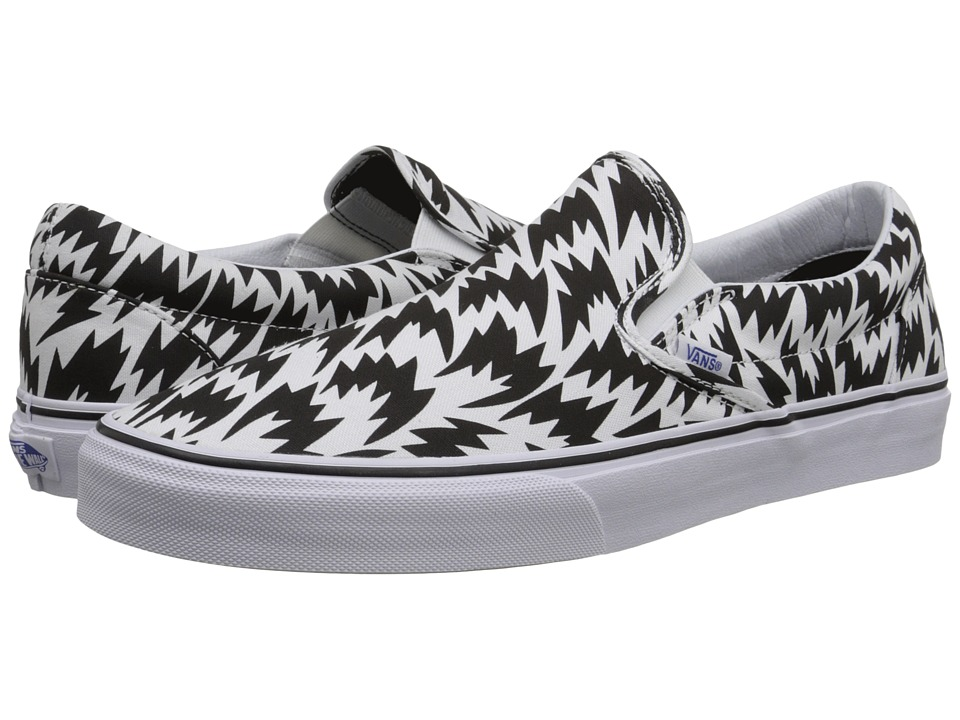 Vans Classic Slip-On ((Eley Kishimoto) Flash/White/Black) Skate Shoes