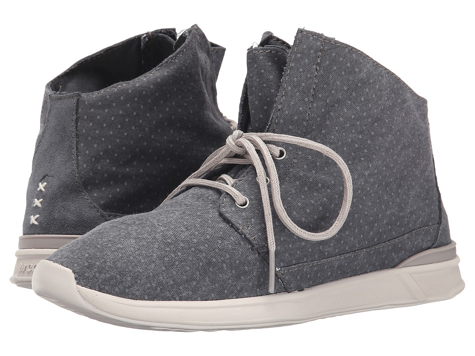 Reef - Rover Hi Prints (Charcoal) Women's Shoes