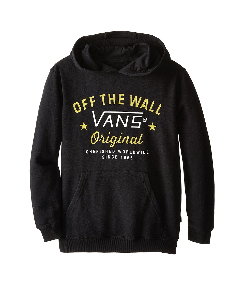 Vans Kids - Glencrest Pullover Hoodie (Big Kids) (Black) Boy's Sweatshirt