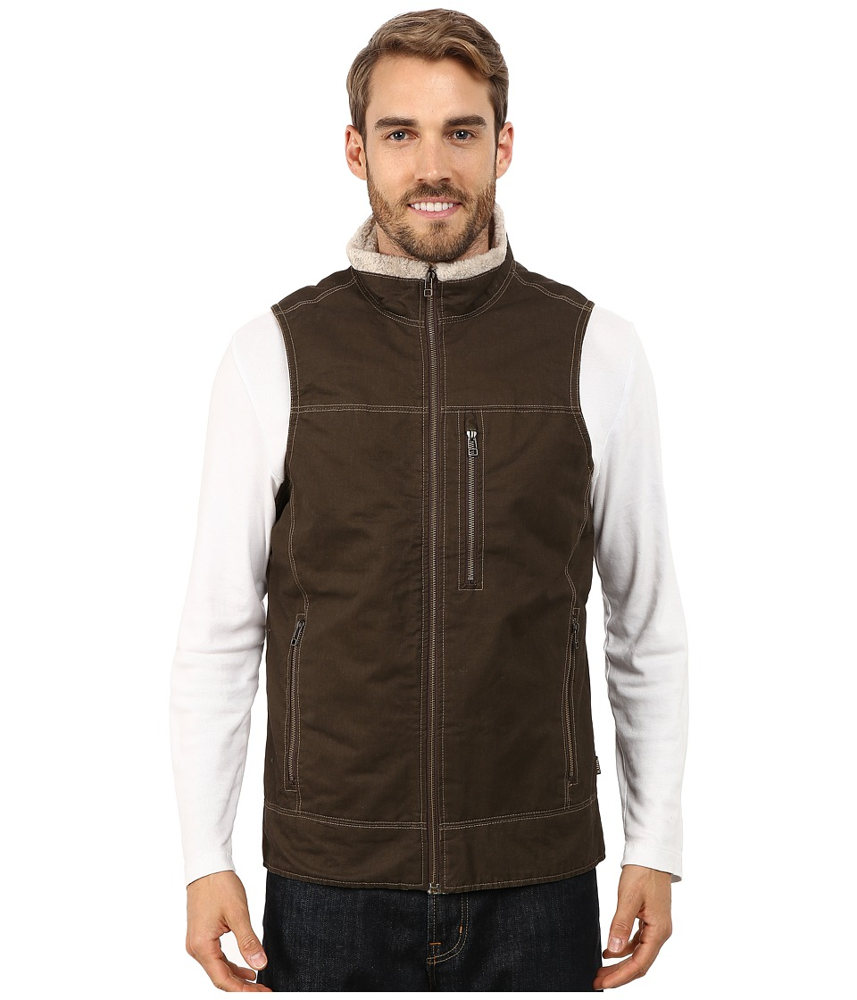 Kuhl - Burr Lined Vest (Brown) Men's Vest