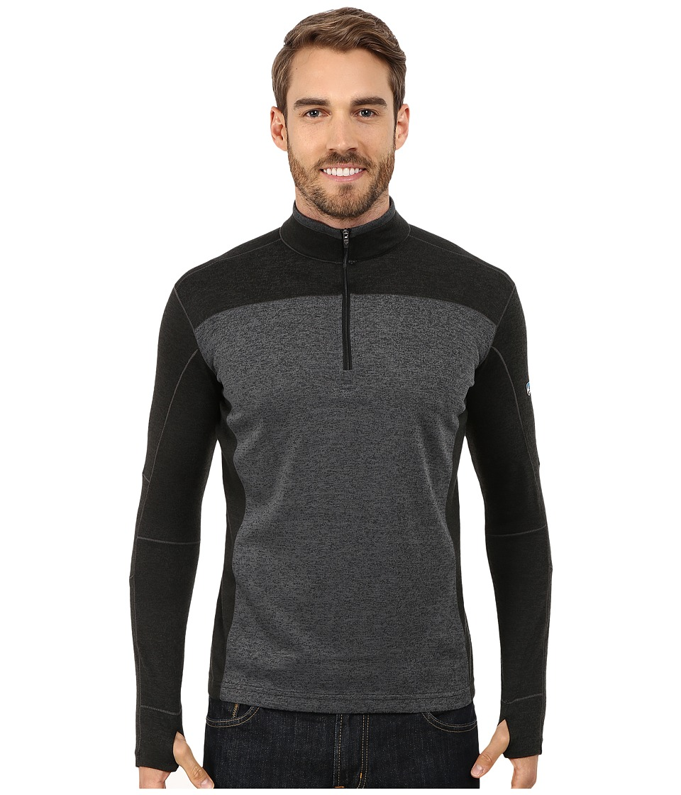 Kuhl - Kobra Pullover (Black/Coal) Men's Long Sleeve Pullover