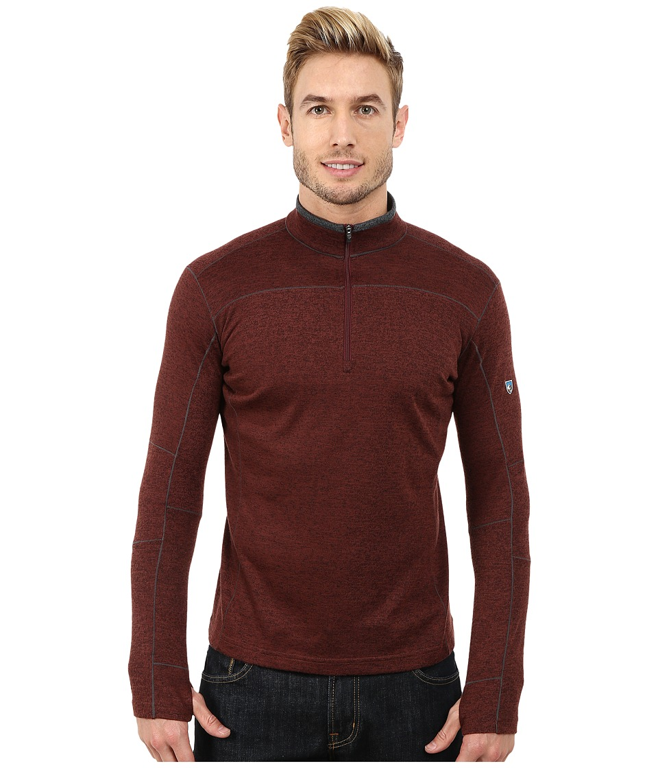 Kuhl - Kobra Pullover (Brick) Men's Long Sleeve Pullover