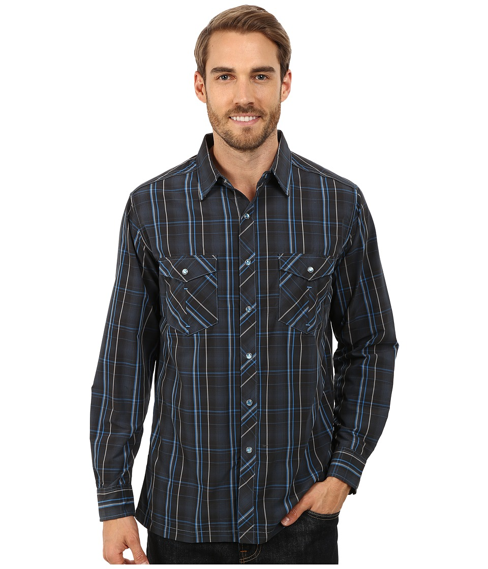 Kuhl - Konquer L/S Shirt (Mutiny Blue) Men's Long Sleeve Button Up