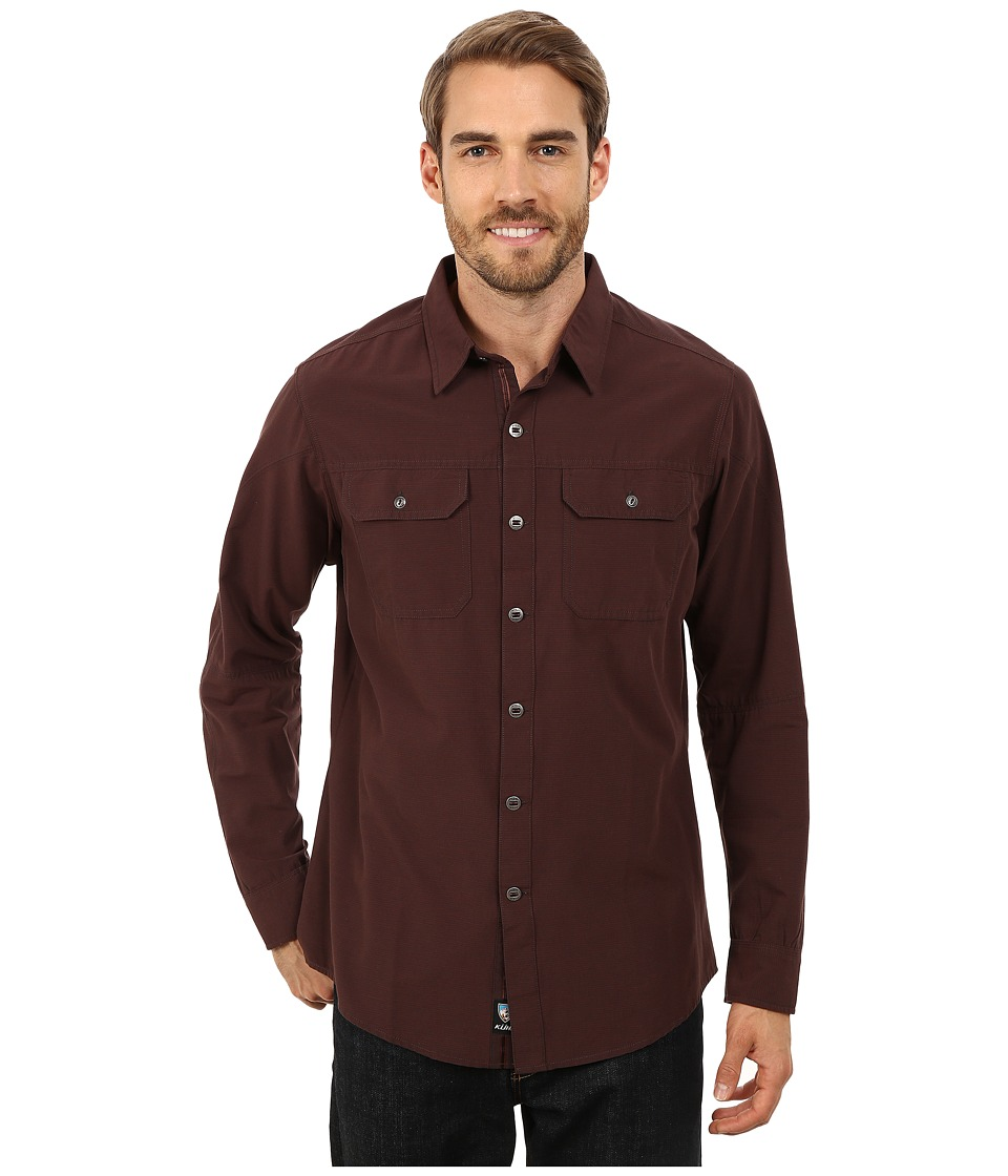 Kuhl - Sting Long Sleeve Shirt (Brick) Men's Long Sleeve Button Up