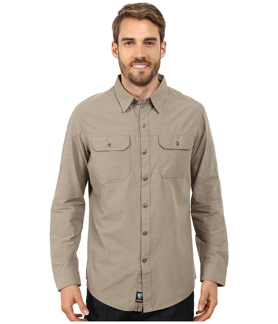 Kuhl - Sting Long Sleeve Shirt (Dark Khaki) Men's Long Sleeve Button Up