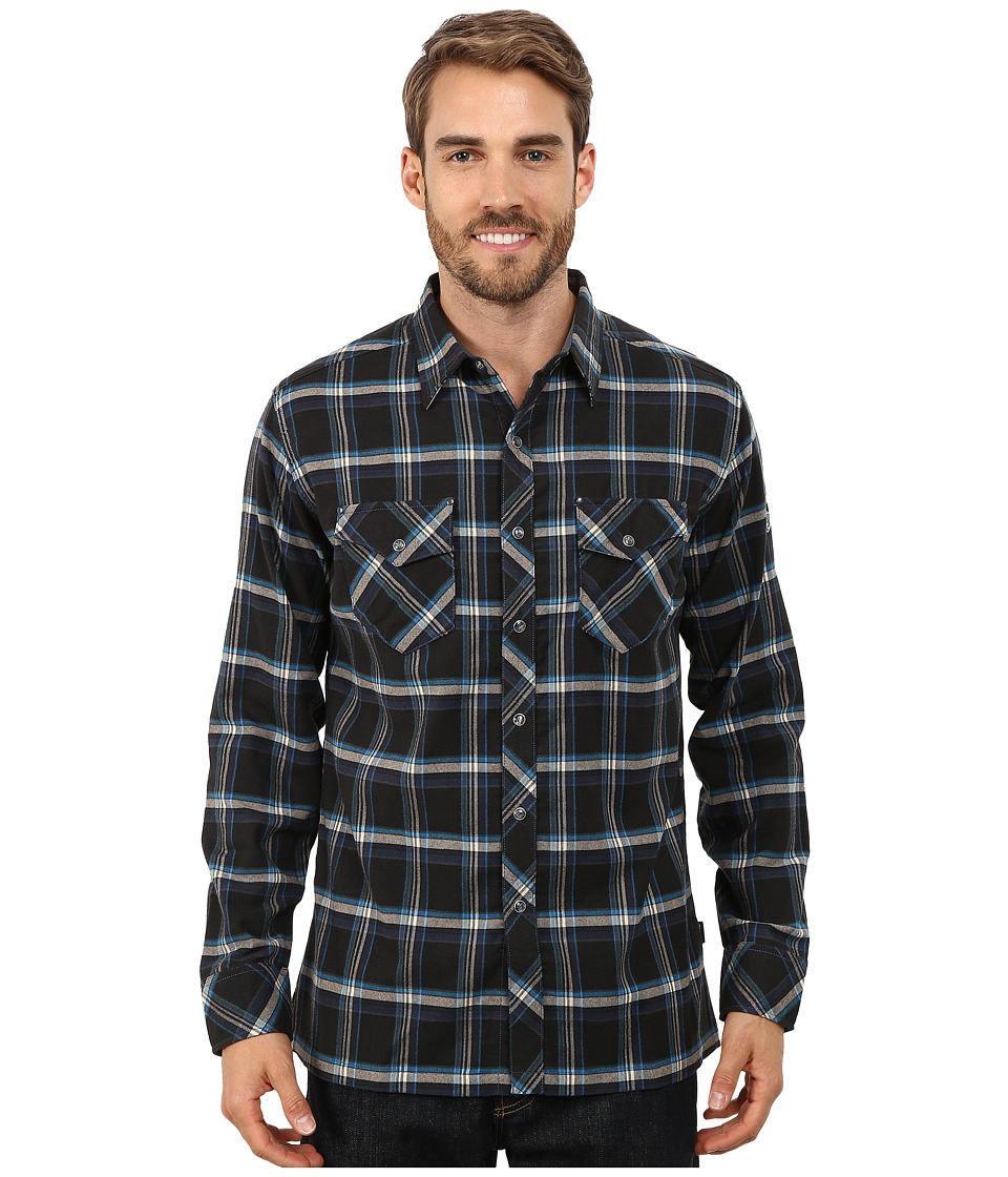 Kuhl - Maverik (Black N Blue) Men's Long Sleeve Button Up