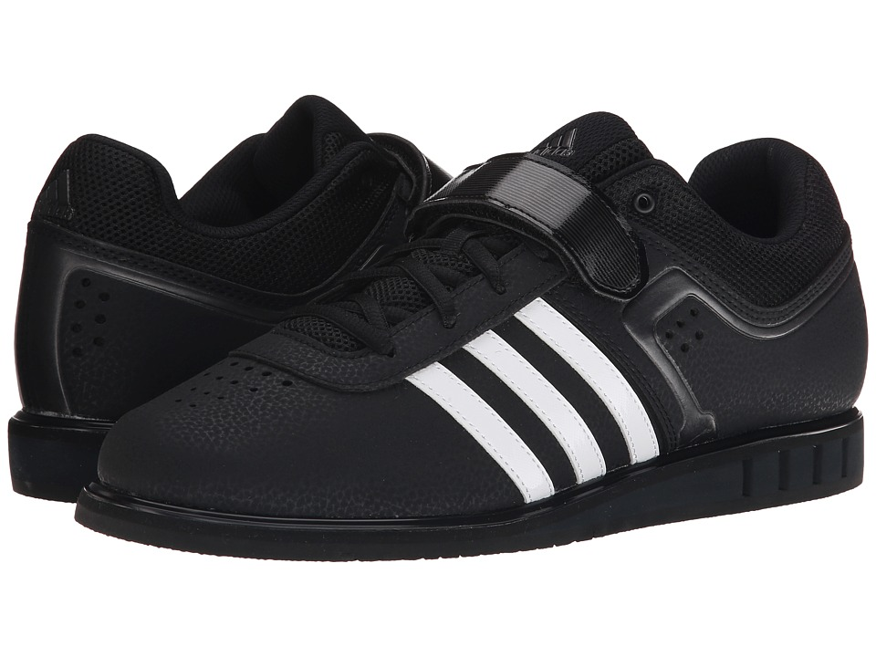 adidas - Powerlift 2 (Black/White/Night Metallic) Men's Shoes