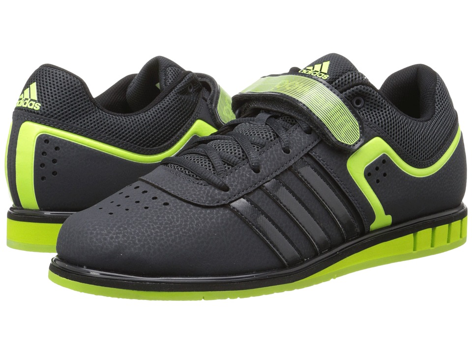 adidas - Powerlift 2 (Dark Grey/Solar Yellow/Black) Men's Shoes