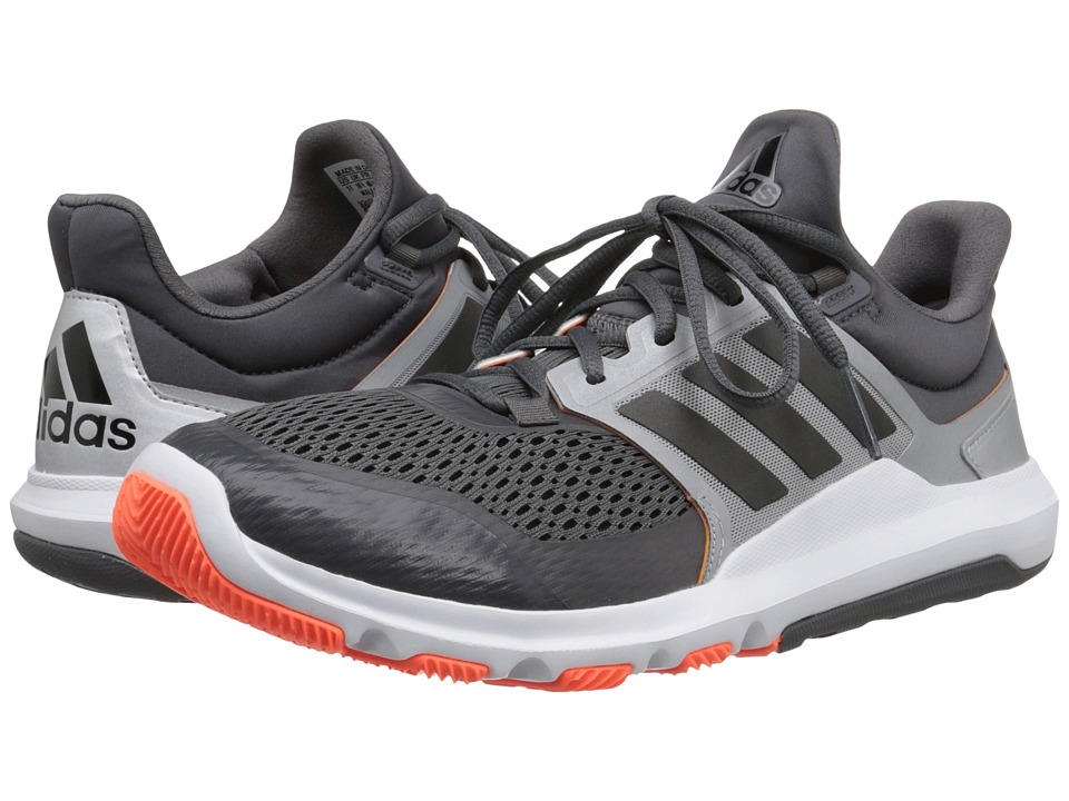 adidas - Adipure 360.3 (Granite/Black/Solar Orange) Men's Shoes