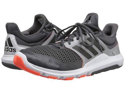 adidas - Adipure 360.3 (Granite/Black/Solar Orange) Men