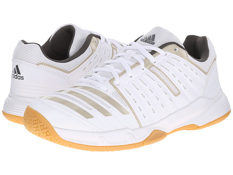 adidas - Essence Stabil (White/Tech Metallic/Cinder) Women's Running Shoes