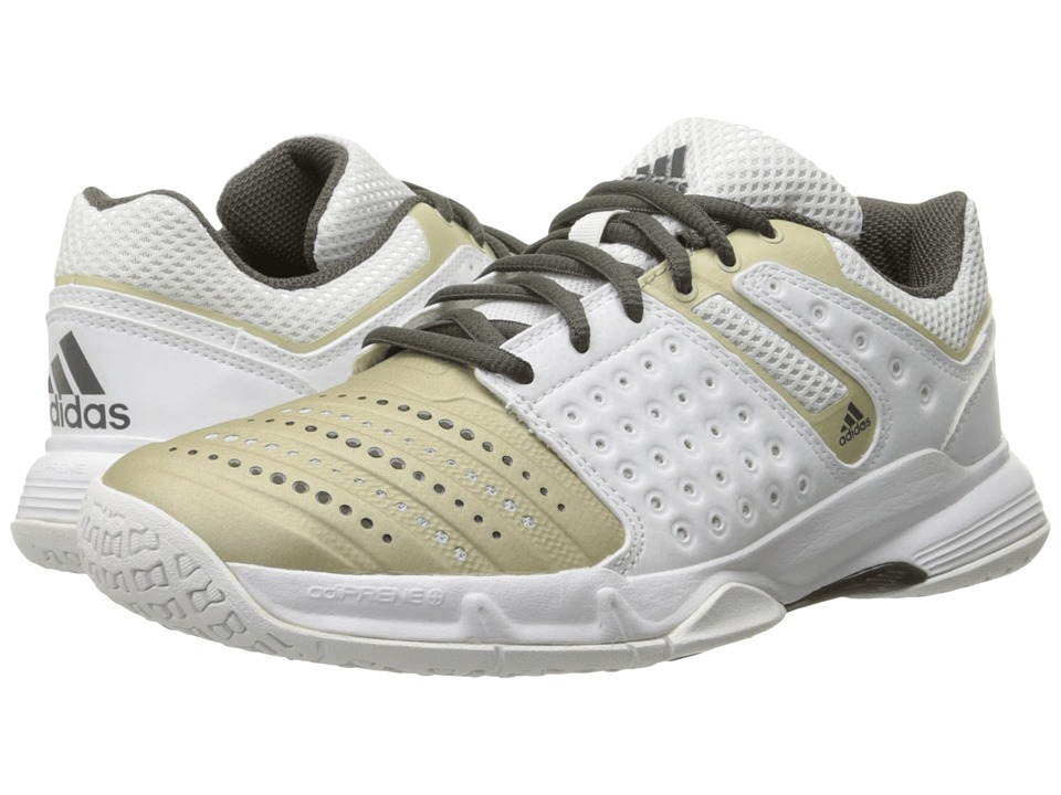 adidas - Court Stabil (Star Metallic/White/Tech Metallic) Women