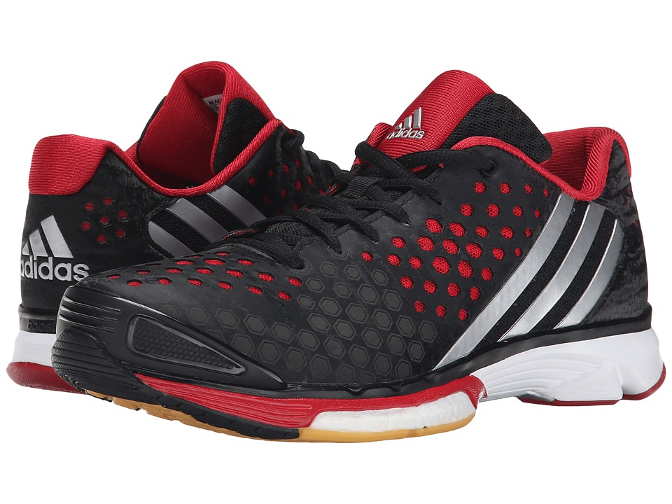 adidas - Volley Response Boost (Black/Silver Metallic/Power Red) Women
