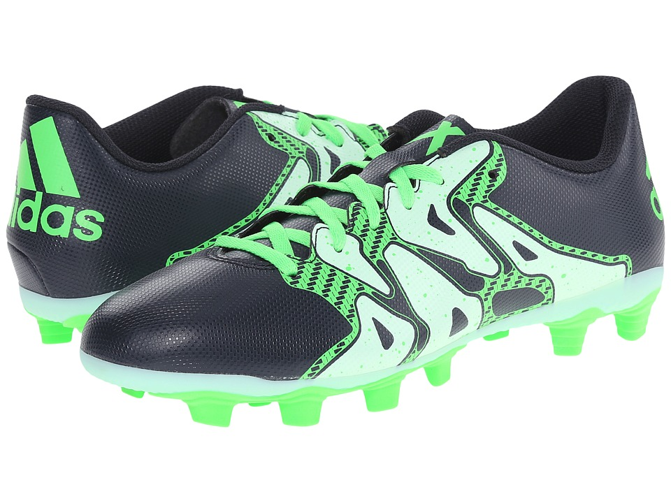 adidas - Chaos Entry FxG (Night Navy/Frozen Green/Flash Green) Women's Cleated Shoes