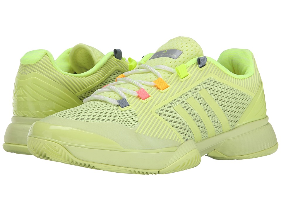 adidas - Stella McCartney Barricade 2015 (Light Flash Yellow/Glacial) Women's Tennis Shoes