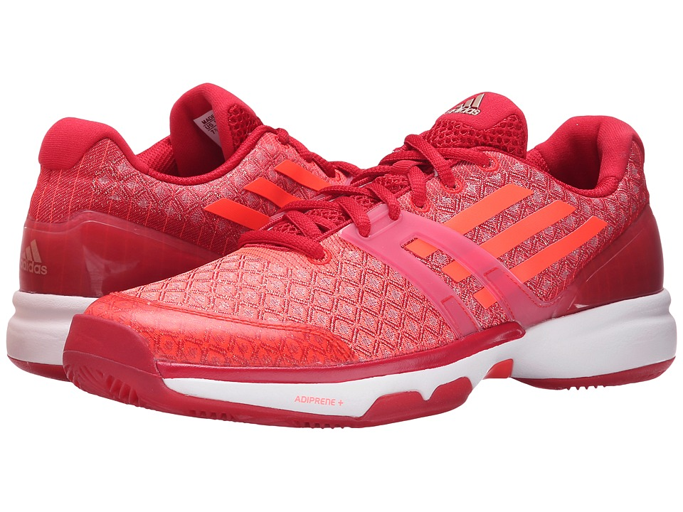 adidas - Adizero Ubersonic (Power Red/Solar Red/White) Women's Tennis Shoes