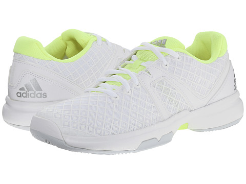 adidas - Sonic Allegra (White/Silver Metallic/Frozen Yellow) Women