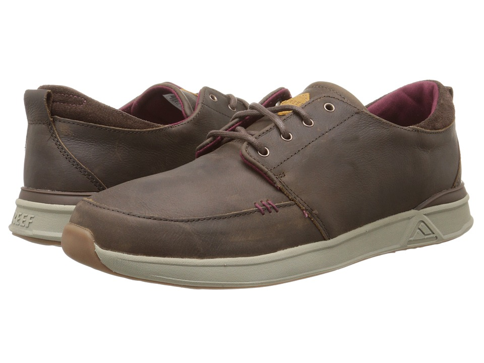 Reef - Rover Low FGL (Chocolate) Men's Shoes