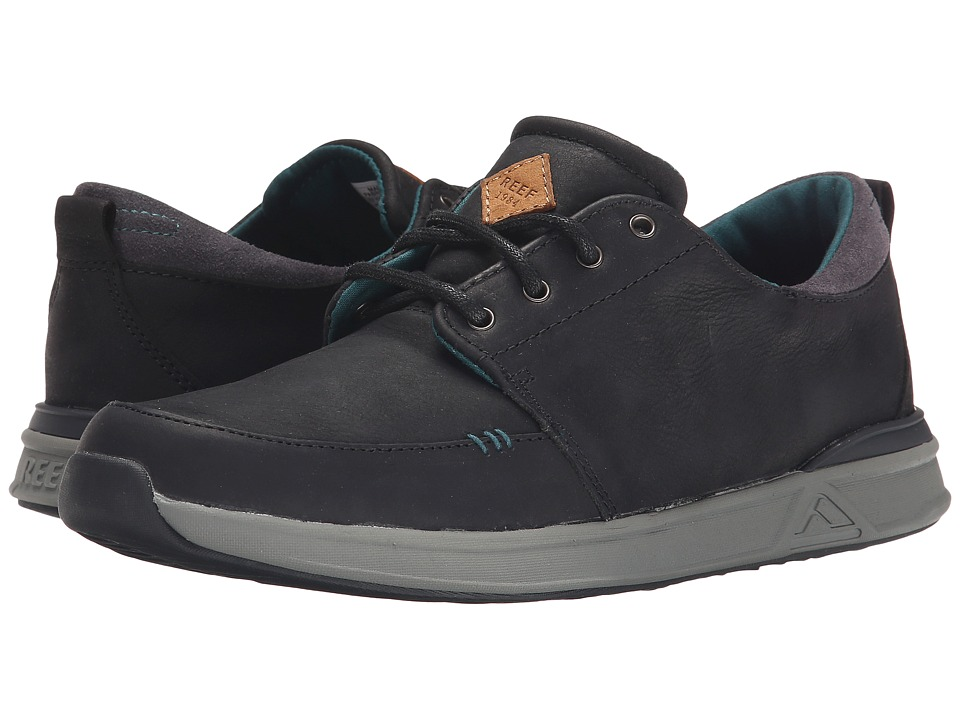 Reef - Rover Low FGL (Black) Men's Shoes
