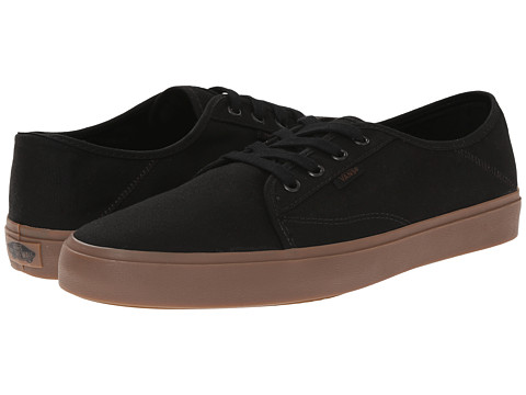 Vans - Costa Mesa SF (Black/Gum) Men's Shoes