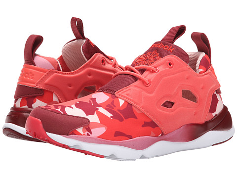 Reebok Lifestyle - Furylite Candy Girl (Rosette/Triathlon Red/Luna Pink/Poppy Red/Quiet Pink/White) Women's Shoes