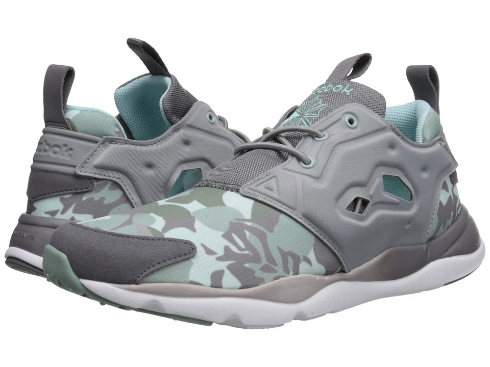 Reebok Lifestyle - Furylite Candy Girl (Flat Grey/Shark/Cool Breeze/Silvery Green/Winter Sage/White) Women's Shoes