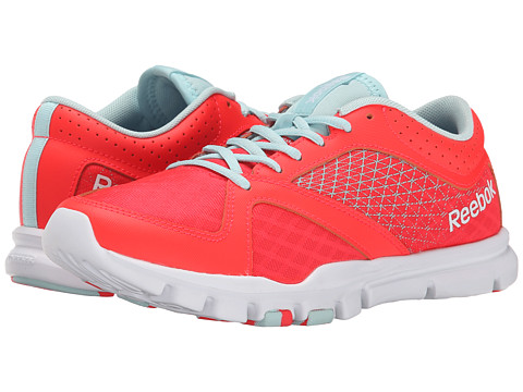 Reebok - Yourflex Trainette 7.0 L MT (Neon Cherry/Cool Breeze/White) Women's Shoes