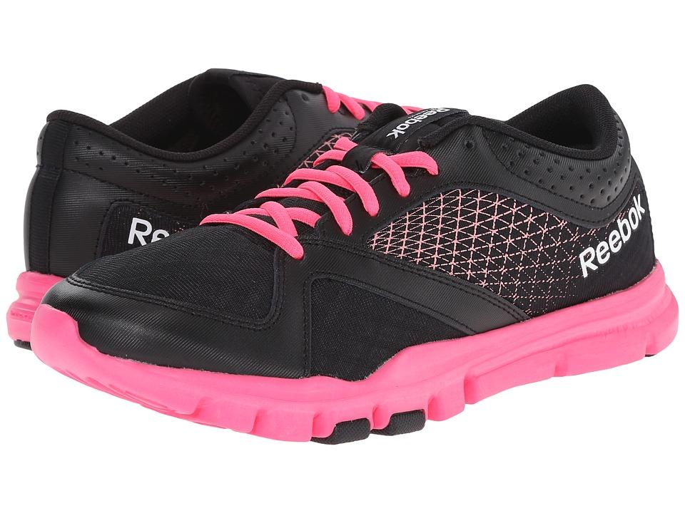 Reebok - Yourflex Trainette 7.0 L MT (Black/Quiet Pink/White/Solar Pink) Women