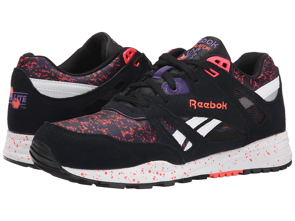 Reebok Lifestyle - Ventilator CG (Black/Sport Violet/Vitamin C/White) Women's Shoes
