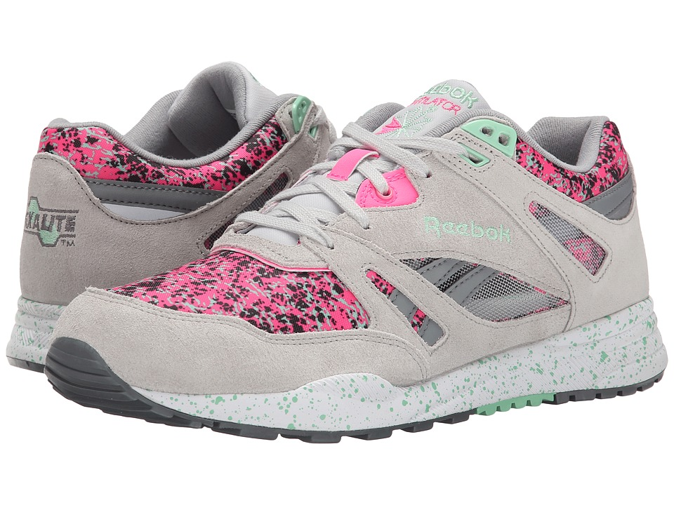 Reebok Lifestyle - Ventilator CG (Snowy Grey/Solar Pink/Mint Glow/Foggy Grey/White/Black) Women's Shoes