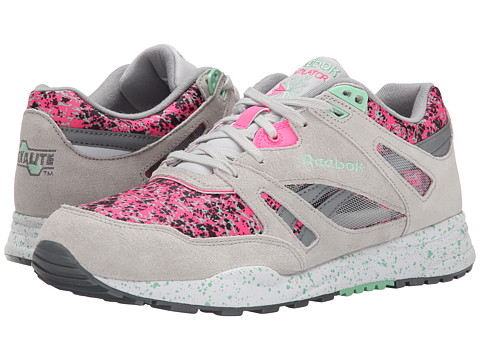 Reebok Lifestyle - Ventilator CG (Snowy Grey/Solar Pink/Mint Glow/Foggy Grey/White/Black) Women
