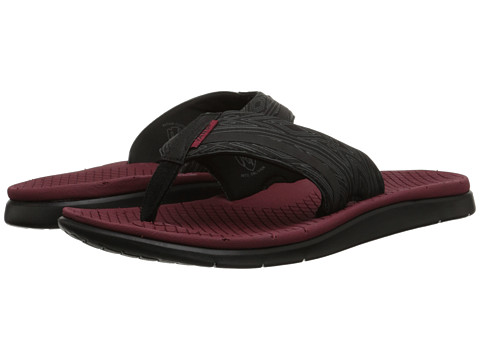 Vans - UC1 ((Nathan Fletcher) Black/Red) Men's Sandals