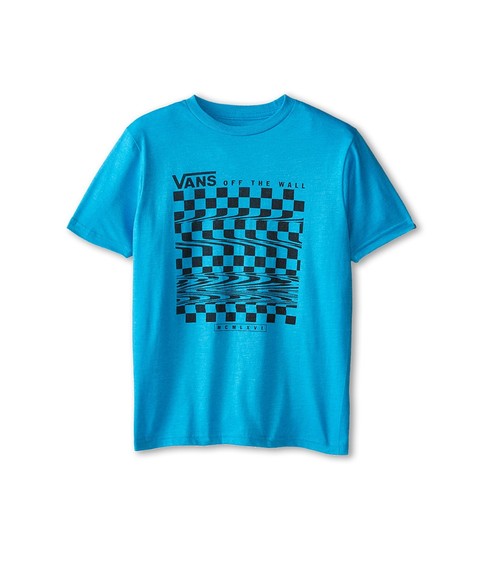 Vans Kids - Glitch Check T-Shirt (Big Kids) (Turquoise) Boy