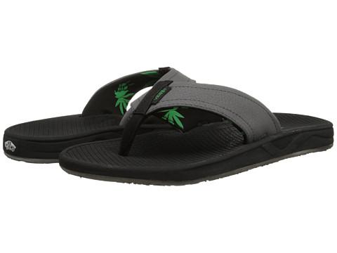Vans - Slip Up (Pewter/Black/Palm) Men's Sandals