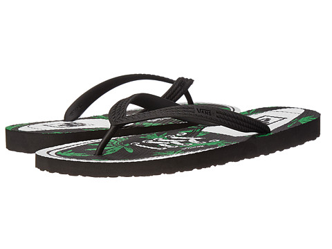 Vans - Hanelei ((Authentic) Green/Palm) Men's Sandals