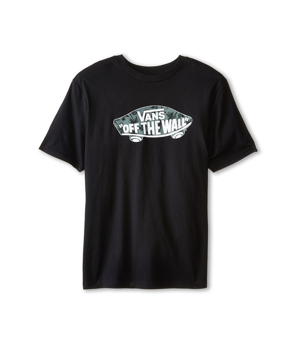 Vans Kids - OTW Logo Fill T-Shirt (Big Kids) (Black/Anchorage Castaway) Boy