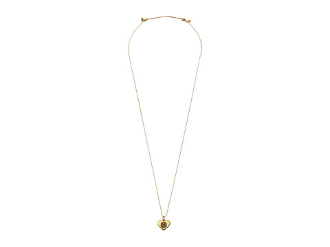 Alex and Ani - Path of Life Heart Expandable Necklace (Gold) Necklace